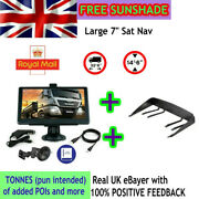 8gb Car Truck Sat Nav Gps Navigation 7and039and039 Free Lifetime Ukandeu Maps Touch Screen