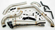 Two Brothers Comp-s 21 Turnout Exhaust For Harley Davidson M8 Softail Wide Tire