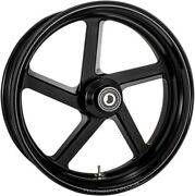 Rear Black-ops Pro-am One-piece Aluminum Wheel For Single Disc W/abs 0202-2163