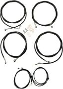 La Choppers Complete Cable Kit For 7-9 Ape Hangers W/abs Motorcycle