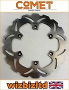 Yamaha Fzr 1000 Exup 1989-1990 [comet Front Brake Disc] [stainless Ws-series]
