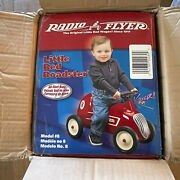 Vintage Radio Flyer Little Red Roadster 8 Steel Body Ride On Toy New In Box