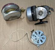 Lot 3⭐ Vintage Fishing Reels Shakespeare 1797 Whites Auto Fisher 1180 South Bend