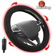 Small Ant Heated Steering Wheel Cover2020 Upgraded 12v Heated Auto Steering W...