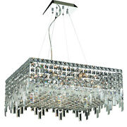 Asfour Crystal Foyer Kitchen Dining Room Ceiling Chandelier Fixture 12 Light 24