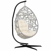 Hammock Steel Stand Only C-stand For Hanging Hammock Chairs 300 Pound Capacity