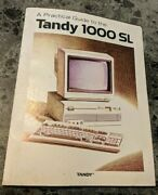 A Practical Guide To The Tandy 1000 Sl 1988 Radioshack Paperback Computer