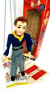 Vintage 1950andrsquos Hazelleand039s Marionette 811 Dick- Real American Boy Cub Scout