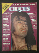 Circus Magazine 151, March 1977, Paul Rodgers Cover + Poster, Rush, Queen