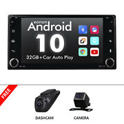Dvr+cam+7 Inch Ips Android 10 Car Stereo Radio Gps Wifi Autoradio Dsp For Toyota