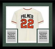 Frmd Jim Palmer Orioles Signed White Mandn Authentic Jersey And Hof 1990 Insc