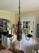 Chandelier Colonial / Traditional Style