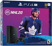 Playstation 4 Pro Nhl 20 Limited Edition Ps4 1tb Console Bundle Open Box