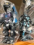 Japan Rare Marmit 3type Kiryu Normal And Absolute Zero Trial Ver. Pvc Figures Set