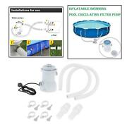 Above Ground Swimming Pool Filter Pump With Accessories For Padding Pools Us