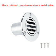 316 Floor Drain Rust Resistant Stable For Boat Deck Drainage Yacht 37mm