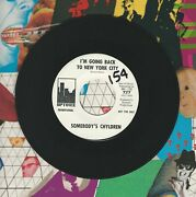 Somebodyand039s Chyldren Iand039m Going Back To New York City Shadows Uptown 45 Record M-