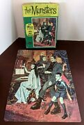 Vintage 1965 Whitman The Munsters Jigsaw Puzzle 100 Pieces Piano Halloween