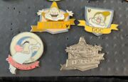2013 Happy And Doc Snow White And The Seven Dwarves Hidden Mickey Disney Pins 3