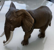 Schleich African Elephant Male Bull D73527 2004 Retired Wildlife Collectible Use