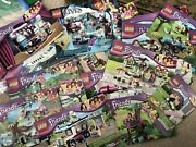 Lego Friends - 25 Set Lot - 41015 41037 41038 - Dolphin Cruiser + Many More