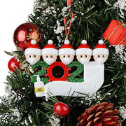 2020 Marry Christmas Tree Hanging Ornaments Family Diy Personalized Decor
