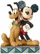 Disney Tradition Jim Shore Mickey Mouse And Pluto Disney Figure 6inch