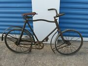Antique Childs Bicycle American National Company Pope Columbia Early 1900and039s