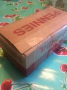 2500 Copper Lincoln Cents Pennies - Full Box 50 Rolls 1959-1981 Hand Rolled 95