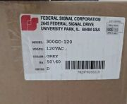 New In Sealed Box Federal Signal 300gc-120 Selectone, Horn Siren Speaker,