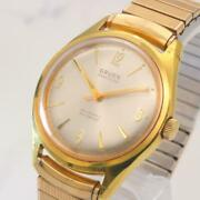 Gruen Precision Automatic Winding Antique Watches 10 Gold Mens A65