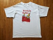 Vintage 1996 Butthole Surfers The Hole Truth And Nothing Butt Tour T Shirt Xl