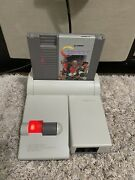 Nes Top Loader Hdmi With Original Box W/ 9 Games. Contra, Mike Tyson Punchout