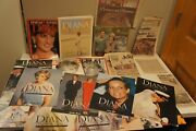 Large Lot Of Princess Diana Magazines Books And Newspaper Clippings