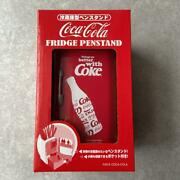 Coca Cola Refrigerator-type Pen Stand Red