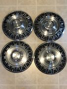1971 1972 1973 Ford Mustang 14 Inch Hub Caps Wheel Covers Vintage Automotive Wow