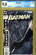 Batman 631 Cgc Graded 9.8 - Highest Graded - Includes Poster/inserts Wagner-c