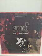 Riedel Extreme Crystal Glass Wine Tasting Set 4 Different Wine Glasses Germany