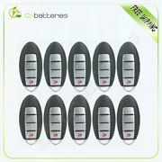 10pcs Replacement Fits Maxima 2007 2008 Key Fob Keyless Entry Car Remote