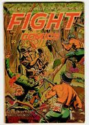 Fight Comics 31 Vg+. Classic Decapitation Cover Golden Age