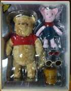 Hot Toys Disney Christopher Robin Winnie The Pooh And Piglet Figures Collectible