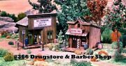 Campbell Scale Models 366 Ho W T Stephenson Drug Company And Barber Shop