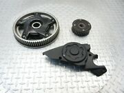 2014 13-16 Bmw F800gt F800 Oem Rear Front Pulley Sprockets Cover Lot