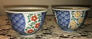 Pair Of Chinese Antique Famille Rose Porcelain Cups