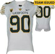 Oregon Team-issued 65 White Mighty Oregon Jersey 2016 Spring Game-46 - Fanatics