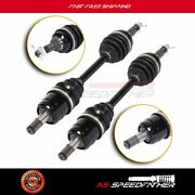 2x Front Left Right Cv Axle Shaft For Honda Fourtrax 300 Trx300fw 1990-2000
