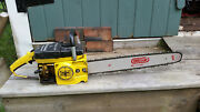 Vintage Collectible Mcculloch Mac 10-10 Automatic Chainsaw With 20 Bar