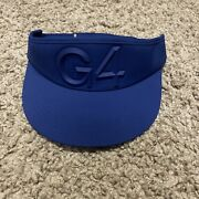 G/fore Tour Visor Royal Blue G4 Logo Nwt Rare Discontinued Style With Sweat Band