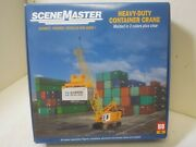 Walthers Scenemaster Part 949-11017 Heavy-duty Container Crane -- Kit Ho Scale