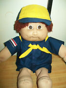 Vintage Boy Cub Scout Shirt Shorts Pants Scarf Hat For 16 Cpk Cabbage Patch Kid